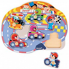 Happy Racing Puzzle