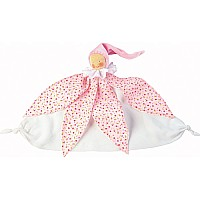 Small Towel Doll Fairy Pink