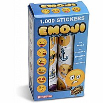 Sticker Assortment - Emoji - 1,000 pack