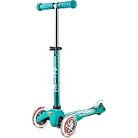 Micro Mini Deluxe Scooter Aqua