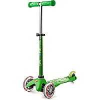 Micro Mini Deluxe Green 3 Wheel Scooter
