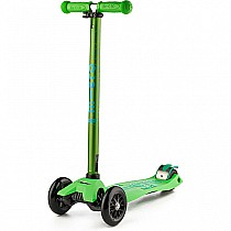 Green Maxi Deluxe Scooter
