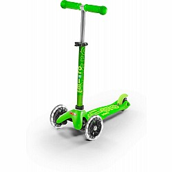 Micro Mini Deluxe Scooter - Green LED