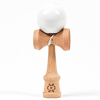 Tribute Kendama Single Color White