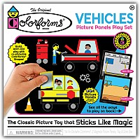 Colorforms Vehicles Picture Panels Play Set