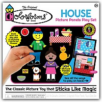 Colorforms House Picture Panels Play Set