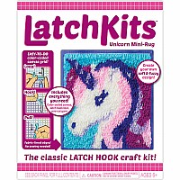 LatchKits Unicorn Mini-Rug Craft Kit