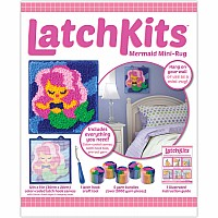 Latchkits Mermaid Rug Craft Kit