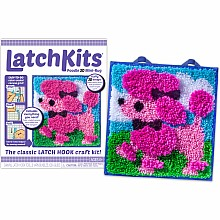 Latchkits 3D Poodle Craft Kit
