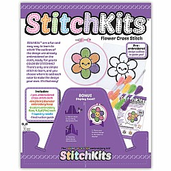 Stitchkits Flower Cross Stitch Kit