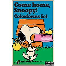Come Home Snoopy Retro Colorforms Set