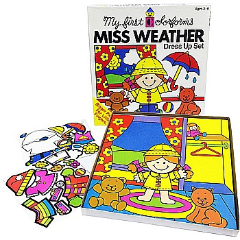 My First Colorforms Miss Weather
