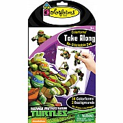 Colorforms Take Along Set: Ninja Turtles