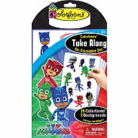 Colorforms Take Along Set: PJ Masks