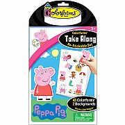 Colorforms Take Along Set: Peppa Pig