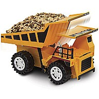 Kid Galaxy Remote Control Dump Truck 5 Function Toy Construction Vehicle