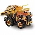 Kid Galaxy Remote Control Dump Truck. 6 Function RC Construction Toy Vehicle, 27 MHz
