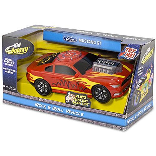 Kid Galaxy Ford Mustang Motorized iRock & iRoll Car  Toddler Light