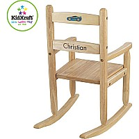 2 Slat Rocking Chair Natural Grand Rabbits Toys in Boulder Colorado