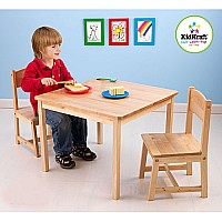 Aspen Table & 2-Chair Set (Natural)