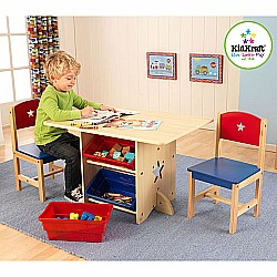 Table & 2 Chair Set - Star