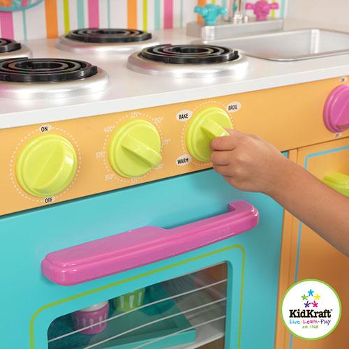 Deluxe Big Bright Kitchen - KidKraft - Bens