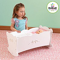 Tiffany Bow Lil' Doll Cradle