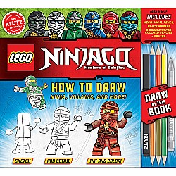 Lego Ninjago How To Draw Ninja, Villains, and More!
