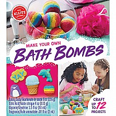 Make Your Own Bath Bombs Klutz