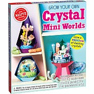 Grow Your Own Crystal Mini Worlds