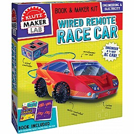 Wired Remote Race Car