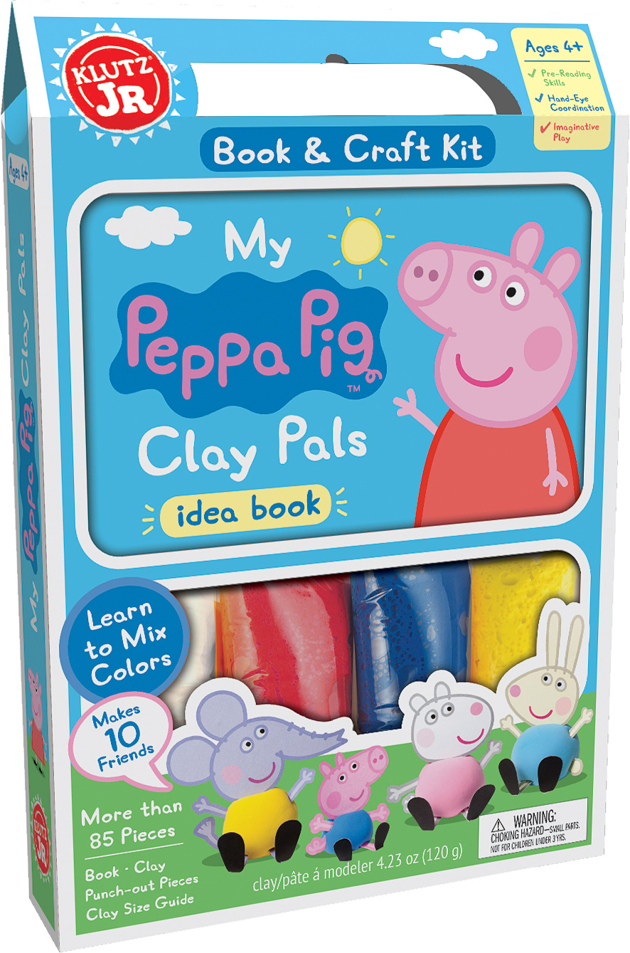 My Peppa Pig Clay Pals Tutoring Toy