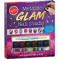 Metallic Glam Nail Studio