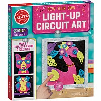 Sew Your Own Light-Up Circuit Art
