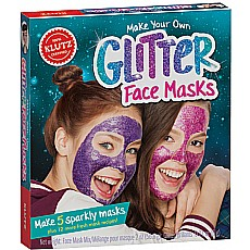 Make Your Own Glitter Face Masks Klutz