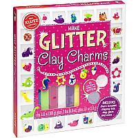 A   MAKE GLITTER CLAY CHARMS