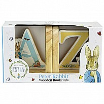Beatrix Potter Wood Bookends Baby Toy