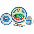 Goodnight Moon 5-Piece Melamine Dish Set