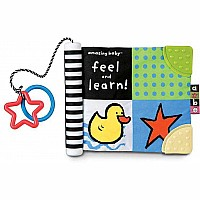 Amazing Baby Feel & Learn (soft book)