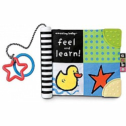 Amazing Baby Feel and Learn Soft Book
