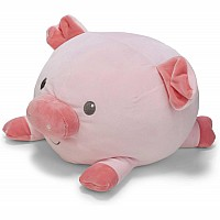 Cuddle Pals Round Pig Stuffed Animal