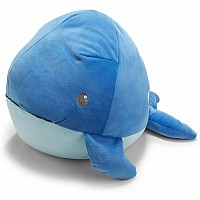 Cuddle Pals Round Whale Stuffed Animal