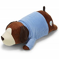 Cuddle Pals Brown Dog Hug Pillow