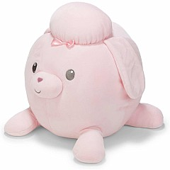 Cuddle Pals Round Pink Poodle Stuffed Animal