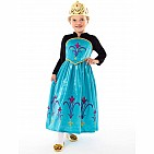 Ice Queen Coronation Dress - Medium
