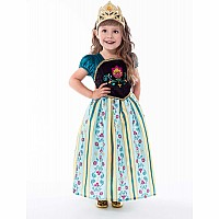 Scandinavian Princess Coronation Dress - Medium