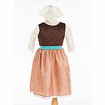 Cinderella Day Dress with Scarf - Small
