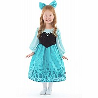 Mermaid Day Dress with Bow - Large