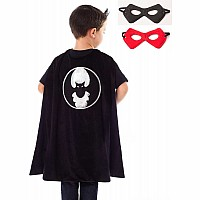 Bat Cape & Mask Set - One Size