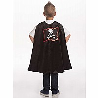 Pirate Cape & Mask Set - One Size
